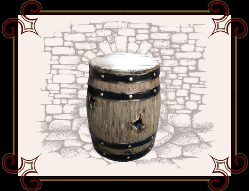 Мебель из бочек, Бочка табурет, табурет в виде бочки, Табурет из деревянной бочки.