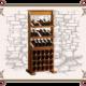 Стеллаж для винных бутылок