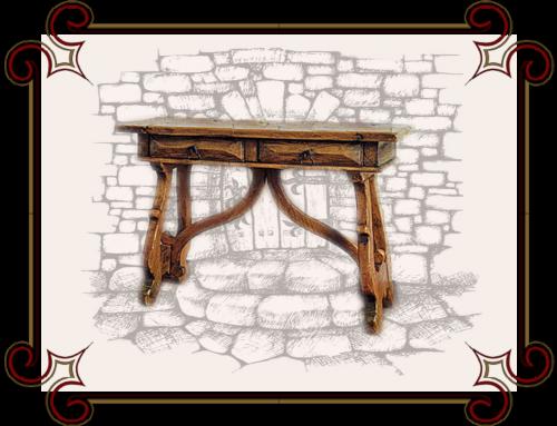 Пристенный столик Миссури