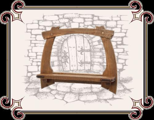 Рамка для зеркала под старину