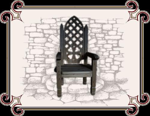 Кресло в готическом стиле купить