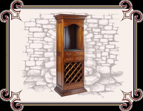Винный шкаф деревянный
