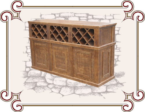 Барная стойка для кухни под старину