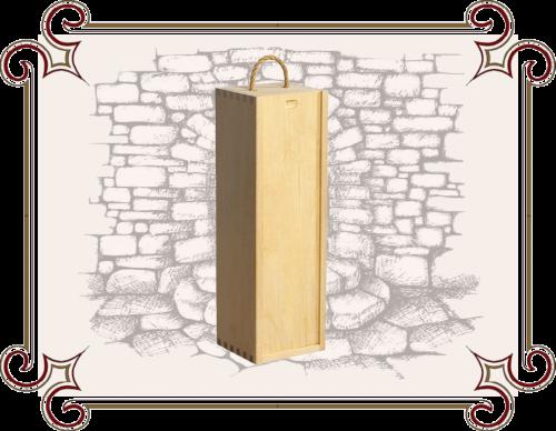 Упаковка для подарков из дерева, пенал для бутылок