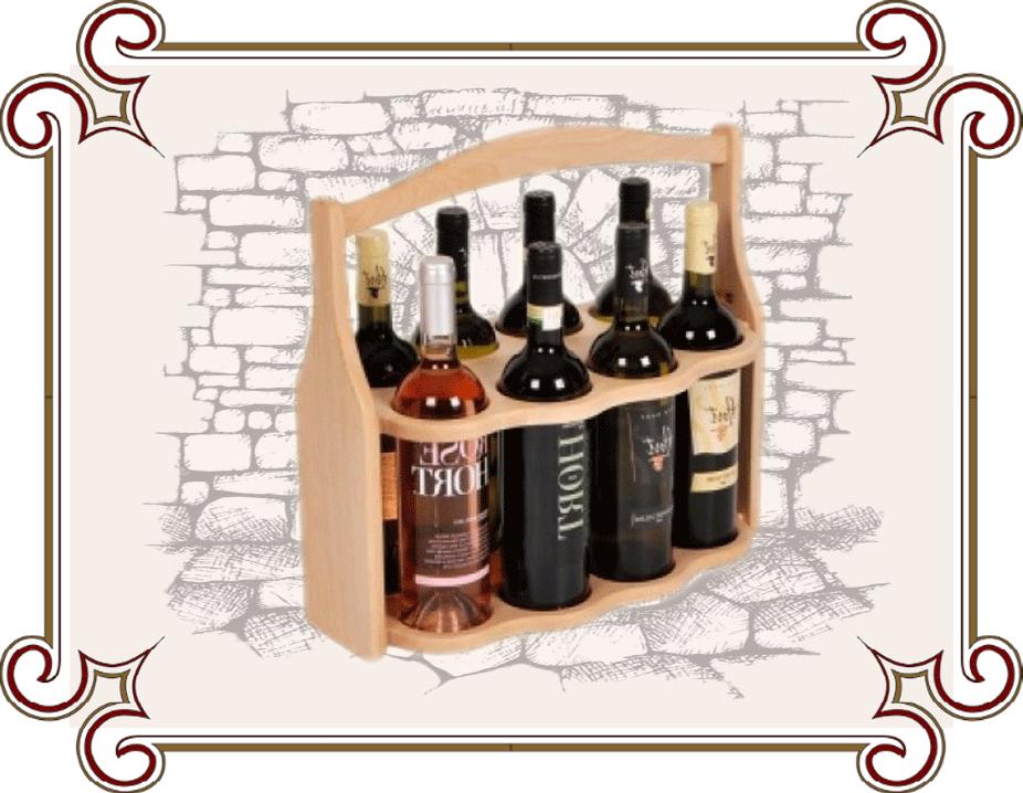 Подставки и ящики для бутылок