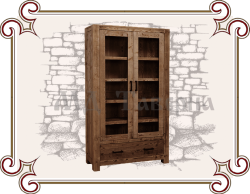 Шкаф со стеклянными дверцами