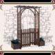 деревянная арка для сада
