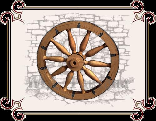 Телега колесо купить
