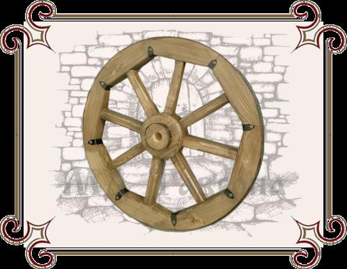 Купить колесо от телеги деревянное