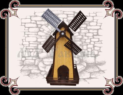 Деревянные мельницы для декора