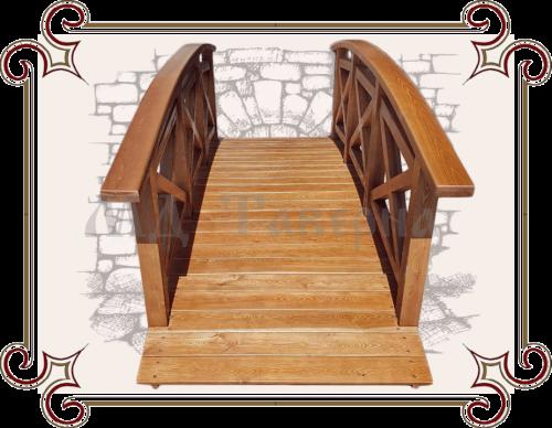 Декоративный мостик для дачи