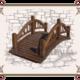 деревянный мостик под старину