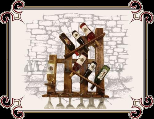 Полка винная Хаос
