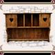 Навесной шкаф в стиле кантри