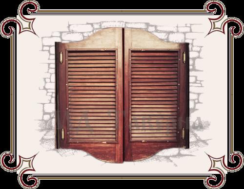 барные двери двухстороннего открывания