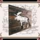 Сборый щит деревянный