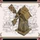 Деревянная мельница недорого