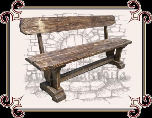Скамейка под старину купить