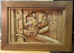 Деревянное панно купить