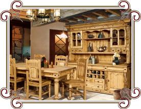 мебель под старину из сосны, бука, дуба