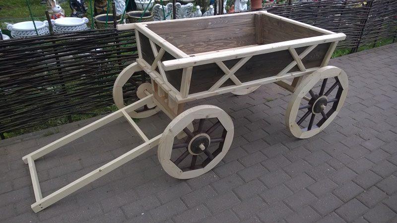 Деревянная-телега