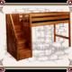 Купить кровать-чердак из дерева