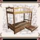 Двухъярусная кровать купить в Москве