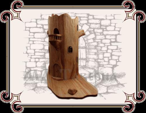Декоративные домики из дерева