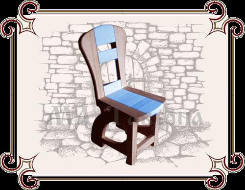 Детский стул со спинкой