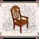 стул детский с подлокотниками