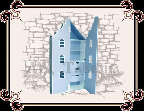 Шкаф домик для детской