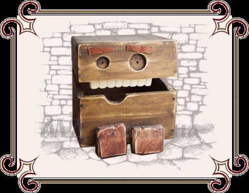 Ящик для игрушек лофт
