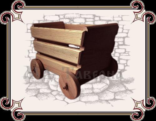 Ящик тележка для игрушек