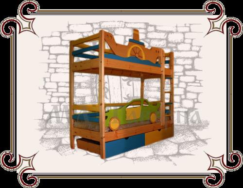 детские двухъярусные кровати купить в москве