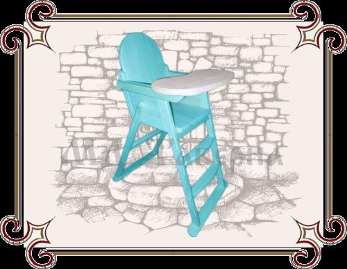 Деревянный стул для кормления