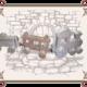 деревянный паровозик