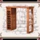 барная стойка деревянном доме