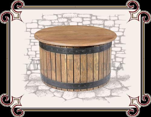 столик кофейный круглый