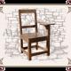 стул из массива дерева