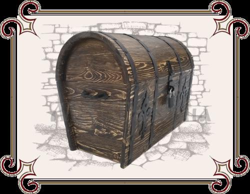 сундук деревянный напольный большой