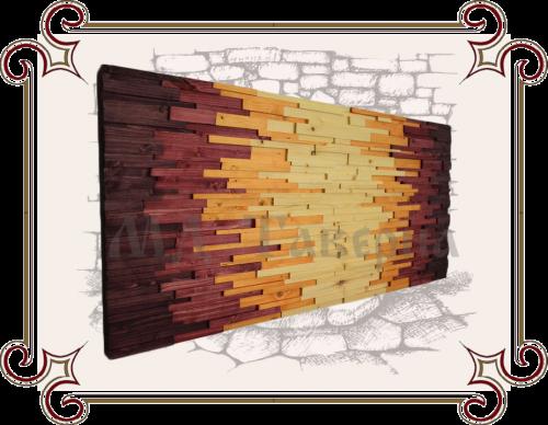 декоративное панно из дерева на стену