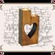 деревянные подсвечник