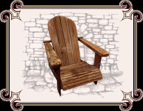 Кресло дачник