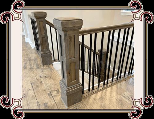 Столбы для лестницы
