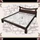 Кровать экологичная, Кровать из массива