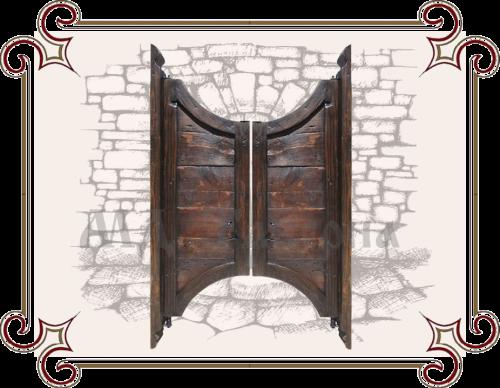 Дверцы в стиле вестерн