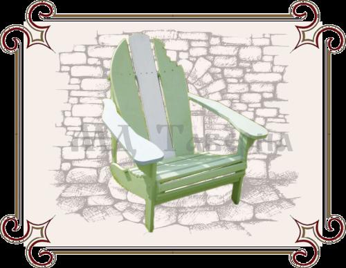 Кресло для сада креативное