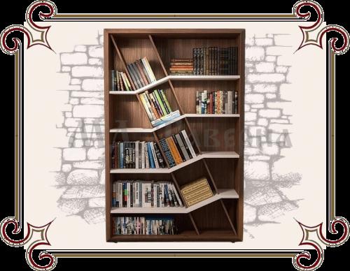 Стеллаж для книг открытый