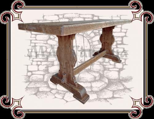 Стол в старорусском стиле