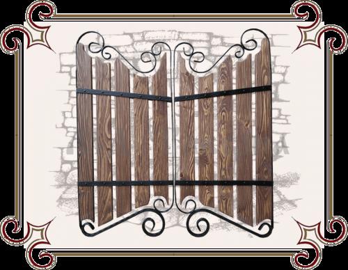 Дверцы кованные под старину